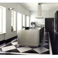 China Polished White And Black Porcelain Tile Nano Finish Polished Ceramic Tile 600x1200mm on sale