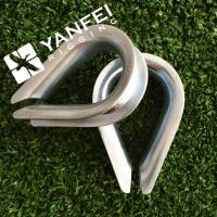 Wholesale Stainless Steel European Type Wire Rope Thimble For Wire Rope from china suppliers
