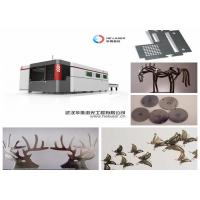 Wholesale IPG Raycus Night Source Fiber Laser Cutting Machine For Metal , 4000W 6000W 8000W from china suppliers