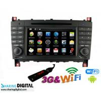 Wholesale Mercedes BENZ GPS Navigation With Android Double Din DVD Audio Radio from china suppliers