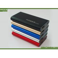 Wholesale 2000mAh Mirror Power Bank Mobile Phone Charger Battery , 6.8 * 54 * 90mm from china suppliers