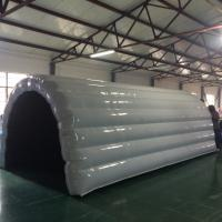 Wholesale High Grade White Inflatable Tunnel Tent For Competition / Business Event from china suppliers