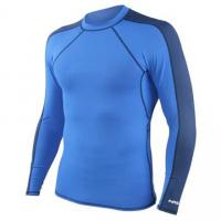 Wholesale Beach Surfing Lycra Rash Guard Shirt UV Customized Spandex T-shirt Swimming Suit from china suppliers