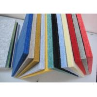 Wholesale Room Sound Insulation Polyester Fabric Acoustical Wall Panels Customized from china suppliers