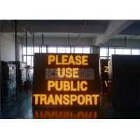 Wholesale 1R1G1B Yellow Led Display P10 , IP65 Waterproof Led Sign 100000 Hours Lifespan from china suppliers