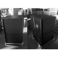 Buy cheap Q SUB DJ Equipment Indoor Speaker System 8 Ohm 800W RMS 18 inch Subwoofer Bass Speaker Box from wholesalers