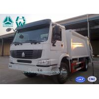 Wholesale Air Conditioner Garbage Collection Vehicles For Daily Garbage Collecting , Compacting from china suppliers