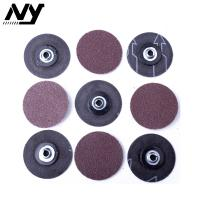 "Wholesale 2"" 50MM   Roloc Abrasive Disc 60# 80# 3M 361F Brown Color Rust Weld Removal from china suppliers"
