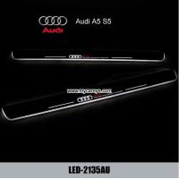 Wholesale Audi A5 S5 car door welcome light led projection Pedal Lights from china suppliers