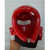 Quality Leather Boxing Head Guard / Martial Arts Head Guard / Protective Head Gear for sale