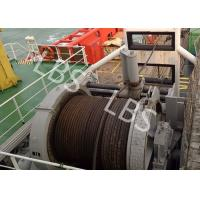Quality 10 Ton 20 Ton 50T Ship Traction Marine Winch With Spooling Device for sale