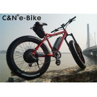 Wholesale Customized Color Fat Tire Electric Chopper Sand Bike For Womens / Mens from china suppliers