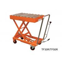 Quality Hydraulic Manual Hand Lift Table With Powder Coat Finish Frame , 300kg Load Capacity for sale