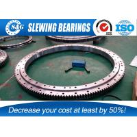Wholesale 42CrMo Steel Three Row Roller Slewing Bearing , High Precision Bearings For Wind Generator from china suppliers
