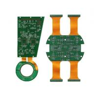 Wholesale Polyimide 0.26MM Flex Printed Circuit With Rigid PCB For Pos Machine Cable Connector from china suppliers