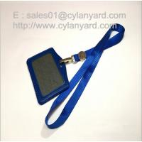 Wholesale Luxury nylon lanyard with metal coin decoration, metal coin lanyards from china suppliers