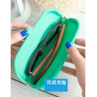 Wholesale Silicone glasses case, Silicon Coin Purse with sealed bag for custom LOGO from china suppliers