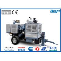 Buy cheap Hydraulic Electric 9Tons Tension Stringing Equipment 2 x 45kN With Two Bundle Conductor from wholesalers