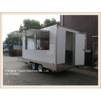 Quality Australian Standard GRP Mobile Kitchen Concession Trailer mobile restaurant for sale for sale