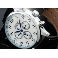 Wholesale Vintage Large Face Mechanical Automatic Watches With 6 Hands , Swiss Wrist Watch from china suppliers