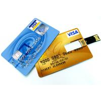 Wholesale USB factory cheap Custom Promotional Credit Card Usb Memory Name card Flash Drive from china suppliers