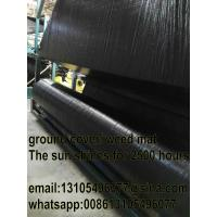 Wholesale Agricultural pp woven weed mat/weed barrier mat/all new material 70GSM 80GSM from china suppliers