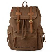 Wholesale Fashion Choco Canvas Laptop Bag,Sports Travel backpack bag (MH-2107) from china suppliers