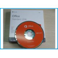 Wholesale Microsoft Office Standard 2016 English License windows retail version Online Activation from china suppliers