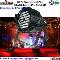 Wholesale Energy Saving LED Par Can Lights Portable Stage Lighting 45° Bean Angle from china suppliers