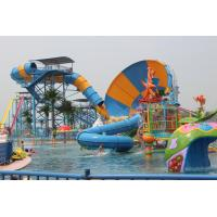 Wholesale Aqua Park Water Park Project With Tornado Water Slide / Water House / Lazy River from china suppliers