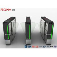 Buy cheap Good Quality Fingerprint Rfid Card Reader Security Turnstile Gate Access Control Flap Turnstile from wholesalers