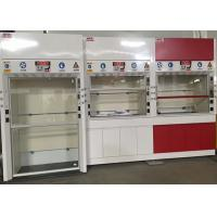 Wholesale 12.7mm Worktops Chemical Fume Hood Adjustable Air Volume Up To 0.5m/S from china suppliers