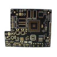 Wholesale Customized BGA Immersion Gold Multilayer PCB With Black Solder Mask from china suppliers