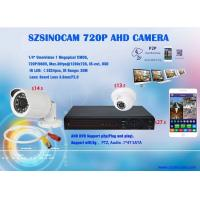 Wholesale 720P HD AHD OV9712 + NVP2431H Analog CCTV Camera with AHD Digital Video Recorder from china suppliers
