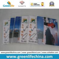 Wholesale Plastic PVC Luggage Tag Promotional VIP Gift Baggage Tag Card from china suppliers