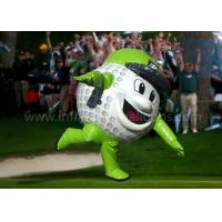 Wholesale 8 Feet Inflatable Man Costume Full Printing Green Inflatable Golf Ball Costume from china suppliers
