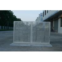 Wholesale Lightweight Road Traffic Barriers , Aluminum Temporary Pedestrian Barriers from china suppliers