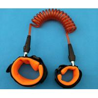 Buy cheap New Arrival Orange Color Coiled Leash Strong Leg Rope Safety Harnessor for Children Security from wholesalers