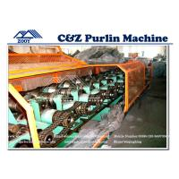 Wholesale Corbon Steel C Z Purlin Roll Forming Machine With 11KW Multi Function Cutting System from china suppliers