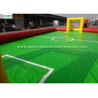 Wholesale Soap Inflatable Soccer Field For Adults Or Children Outdoor Sports from china suppliers