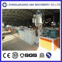 Wholesale 16Mm - 800Mm Diameter Plastic Pipe Extruder Machine For Water And Gas Supply from china suppliers