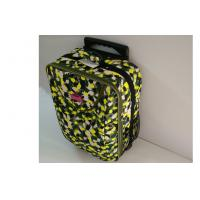 Customized Camouflage Small Hand Luggage Suitcases with Double Roller Design