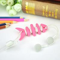 Wholesale Colorful Households Products Earphone Line Twister Fishbone Cable Holding Management from china suppliers