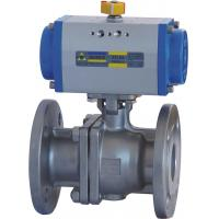 Wholesale Floating Type Pneumatic Actuator Ball Valve 10 Inch ANSI 600 Flanged End from china suppliers