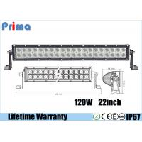 Wholesale 22 Inch 120W Led Spotlights Bar / Waterproof Dustproof Truck Led Light Bar from china suppliers