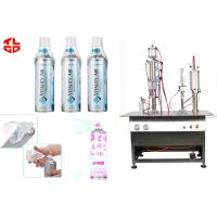 Wholesale Vacuum Crimping Fresh Air Filling Machine , Aerosol Spray Can Filling Machine from china suppliers