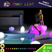 Wholesale Outdoor Garden Furniture Illuminated LED Pumpkin Stool from china suppliers