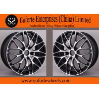 Wholesale Black Machine Face Forged Custom Wheels from china suppliers