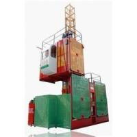 Wholesale High quality Construction Hoist Elevator, construction lifting equipment With Double Cage from china suppliers