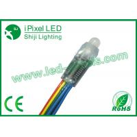 Wholesale 8cm Advertising  Diffused Thin RGB LED Pixel 50 PCS / String Bridgelux Chip from china suppliers